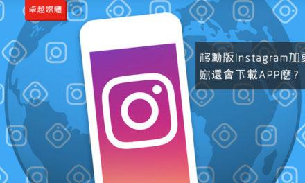 Instagram移動網頁版推圖片分享功能,科技巨頭齊瞄新興市場